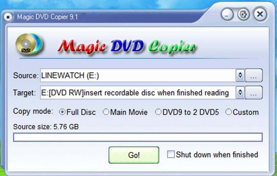 Magic DVD Copier 9 Serial Key