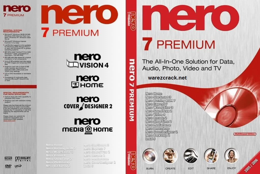Nero 7 Premium Serial Number