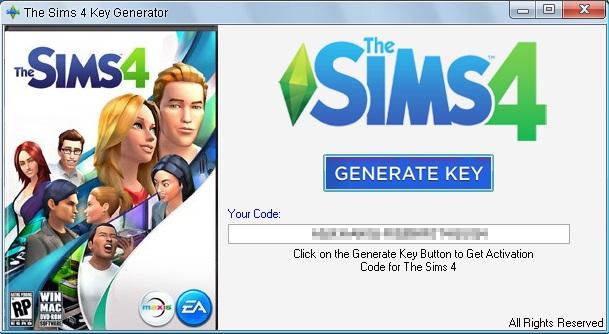 sims 4 cd key download