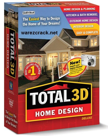 Total 3D Home Design Deluxe 11 Crack