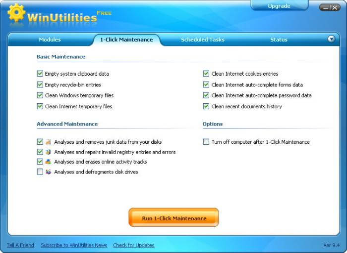 WinUtilities Professional Edition 11 Full Keygen