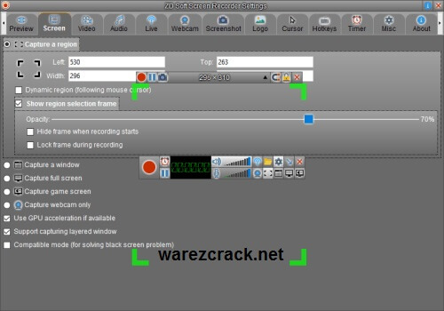 ZD Soft Screen Recorder 10.1 Serial Key