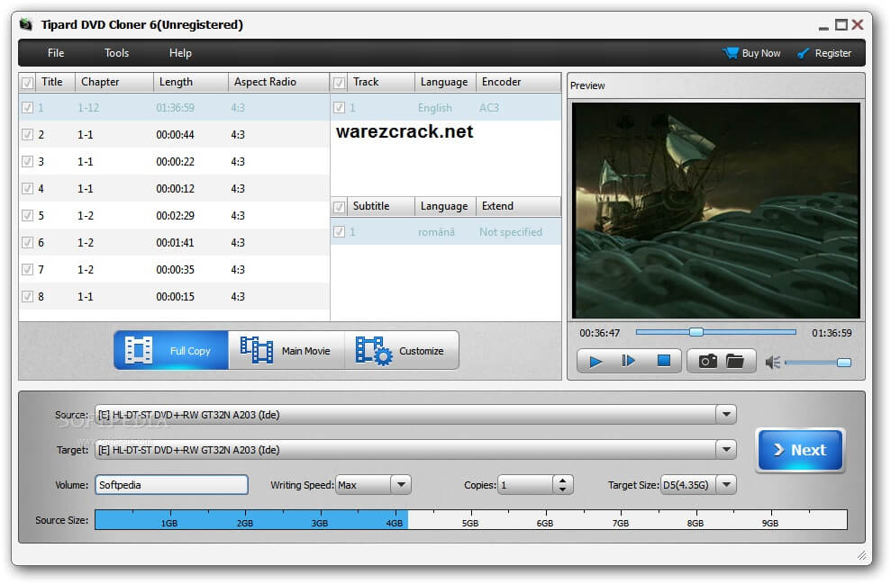 tipard dvd cloner 6 registration code