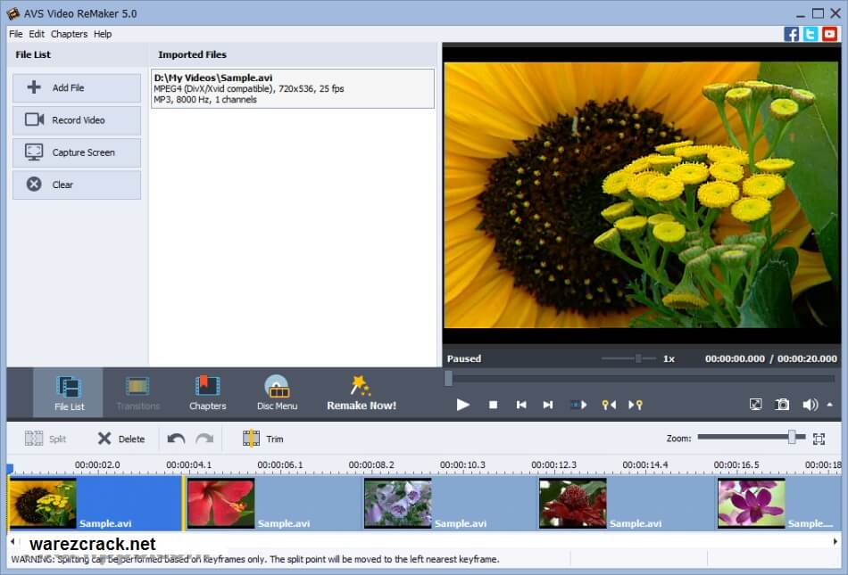 AVS Video Remaker 5.0 Activation Code