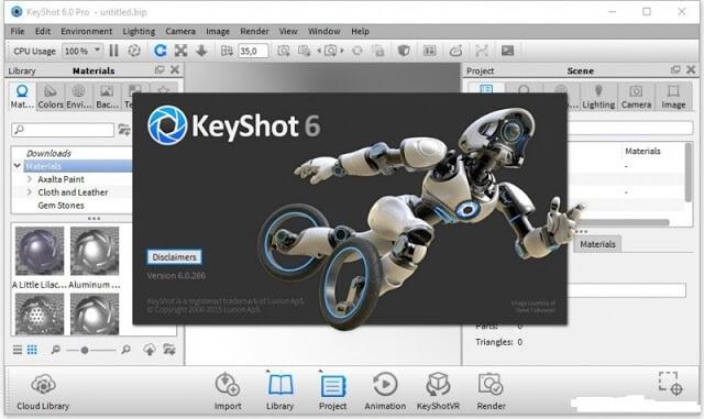 Luxion KeyShot Pro 6.1.72 Keygen
