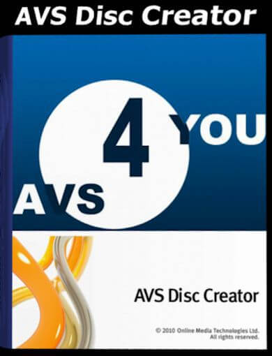 AVS Disc Creator 5.2 Activation Key