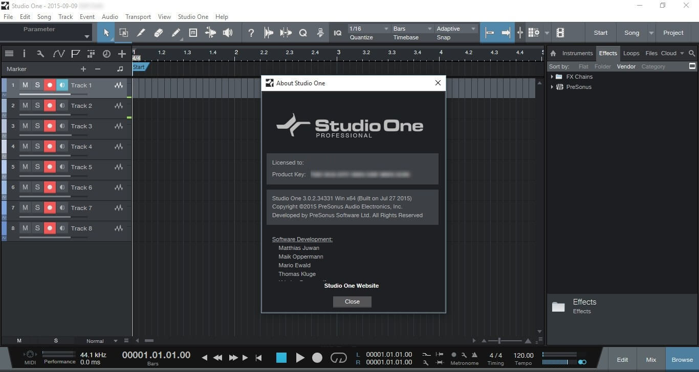 Presonus Studio One 3 Professional Crack