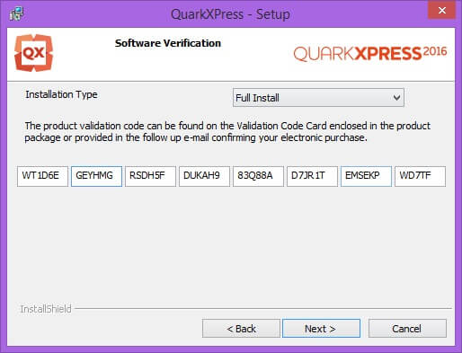 QuarkXPress 2016 Activation Code