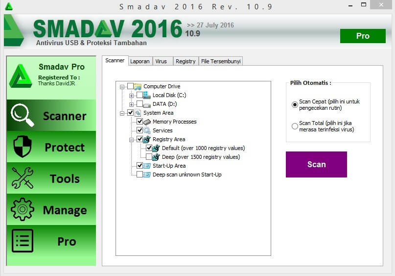 smadav 10.9 Registration Key