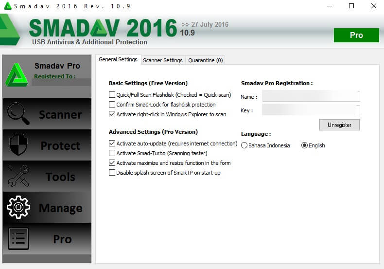 smadav 10.9 Serial Number