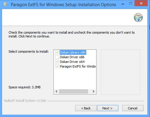 Paragon ExtFS for Windows keygen