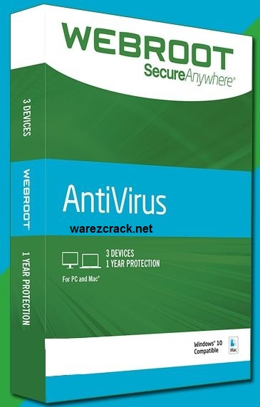 Webroot SecureAnywhere Antivirus 2017 Crack