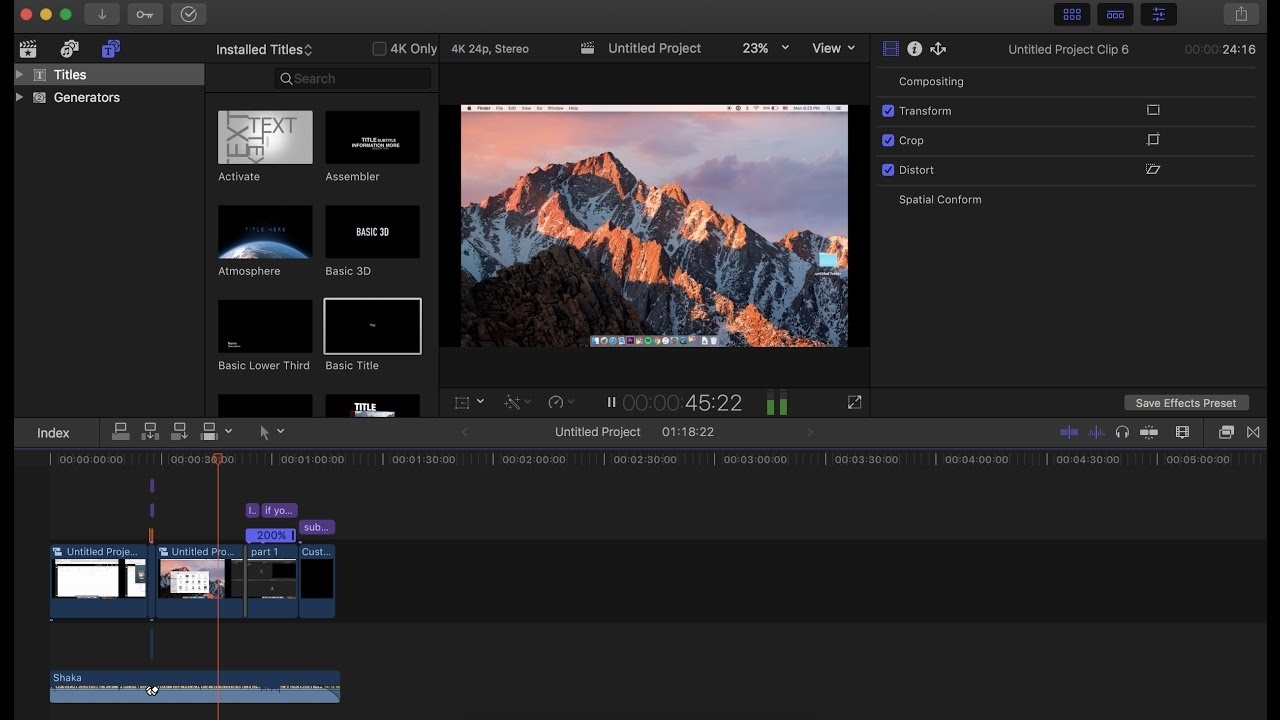 Final Cut Pro 10.3.3 Serial Number