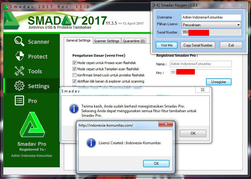 Smadav Pro 11.3.5 Registration Key
