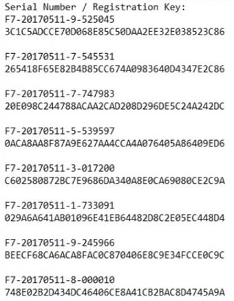 Folder Lock 7.7.0 Serial Number 2017