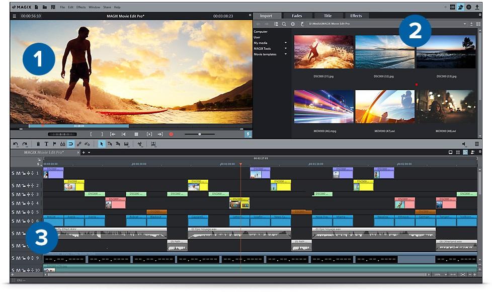 Magix Movie Edit Pro 017 Premium Serial Key