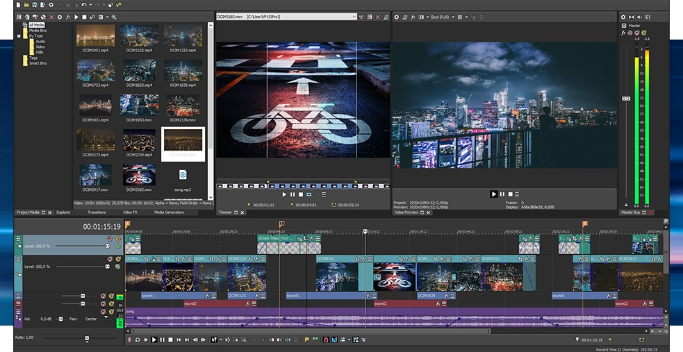 Sony Magix Vegas Pro 14 Suite