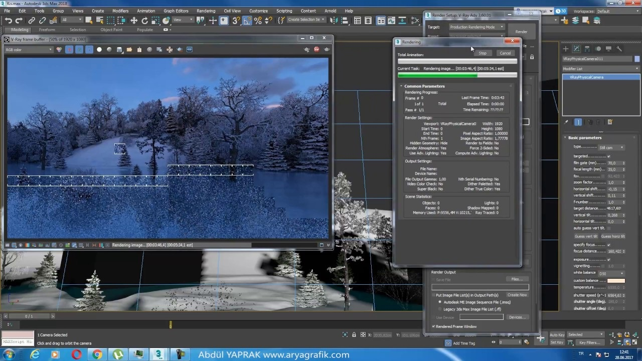 V-Ray 3.6 for 3ds Max 2018 Keygen