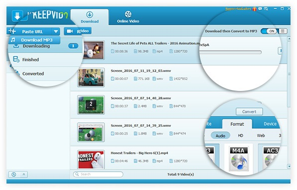KeepVid Pro 6.3.0.7 Serial Key