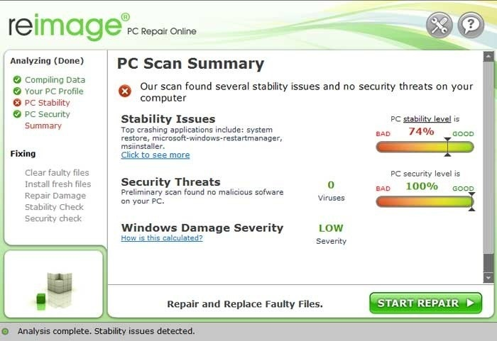 Reimage PC Repair 2017 Crack