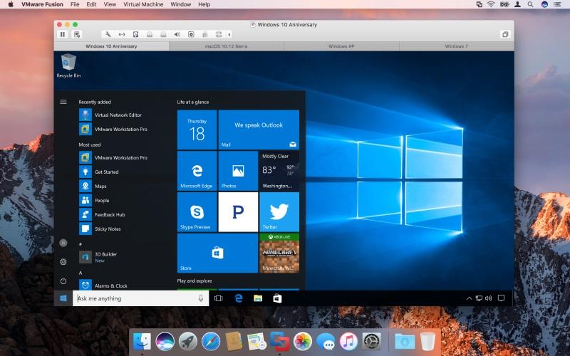 VMware Fusion 10 Crack