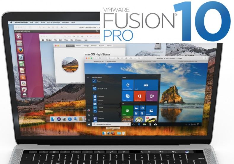 VMware Fusion 10 Pro Crack