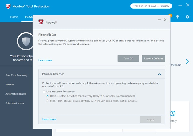 McAfee Total Protection 2017 Activation Key