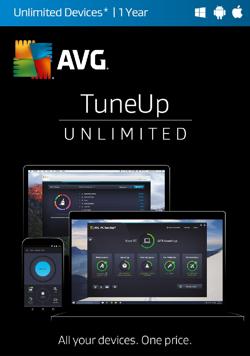 AVG PC TuneUp 2018 Product Key