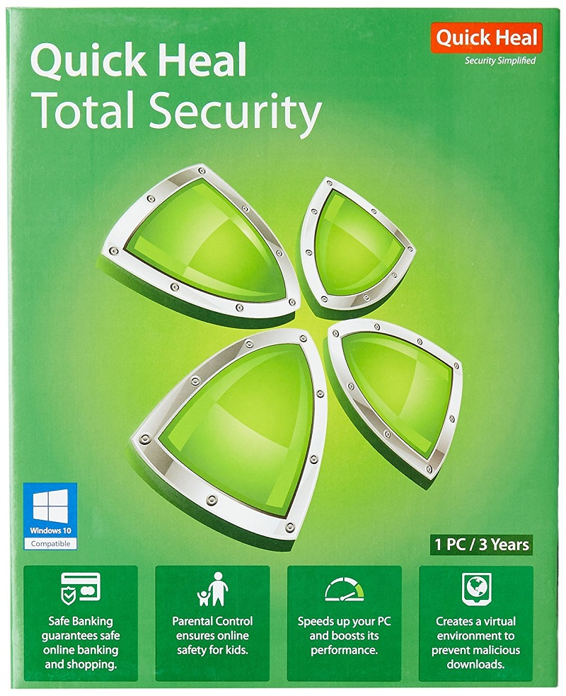 quick heal antivirus total security 2018 crack