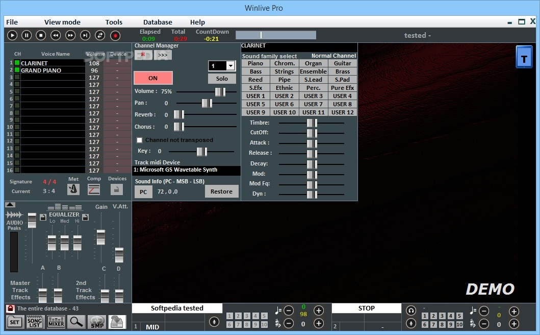 WinLive Pro Synth 7.0 Serial Key