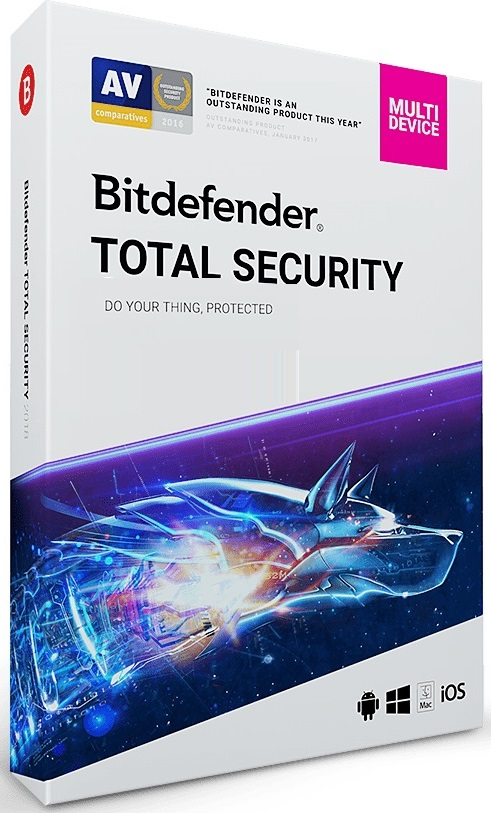 Bitdefender Total Security Multi-Device 2017 License Key
