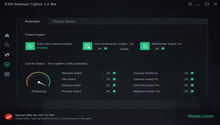 IObit Malware Fighter Pro 5.4 License Key