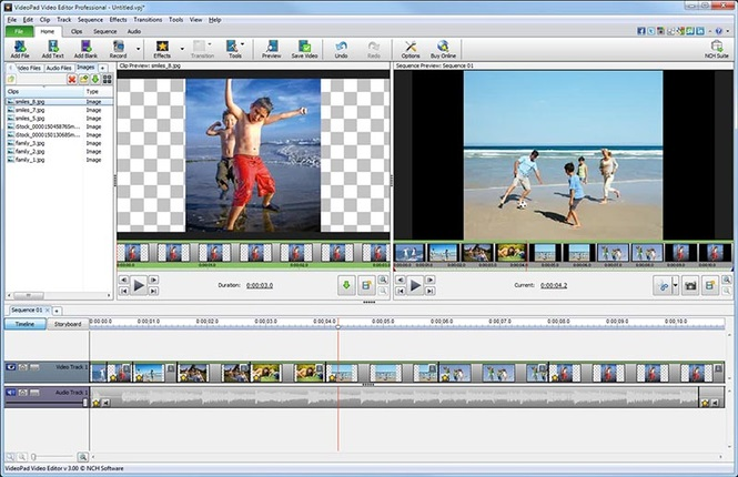 NCH VideoPad Video Editor Professional 5.20 Registration Code