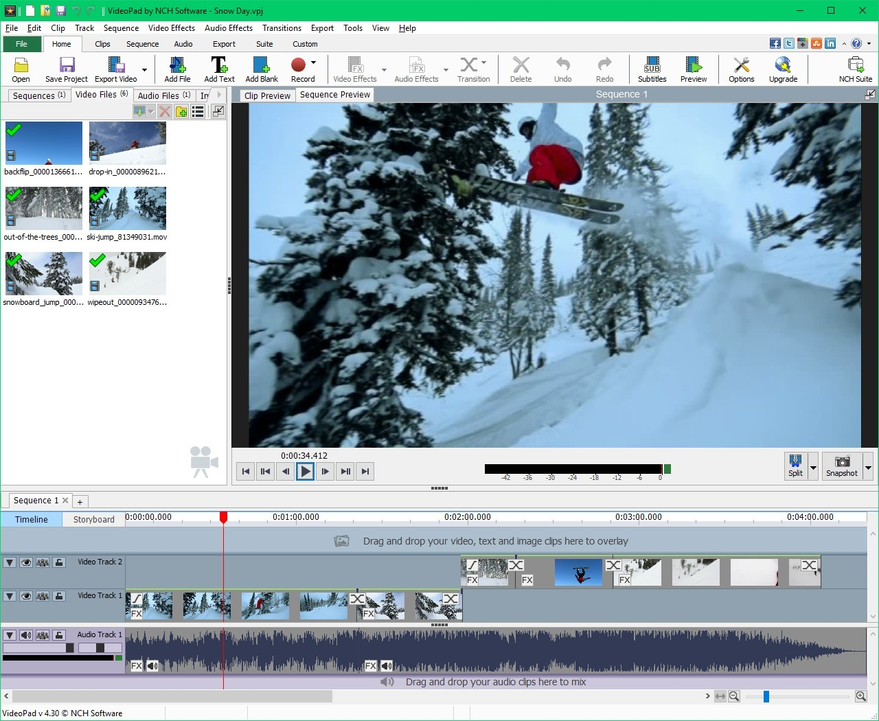 NCH VideoPad Video Editor Professional 5.20 Serial Key