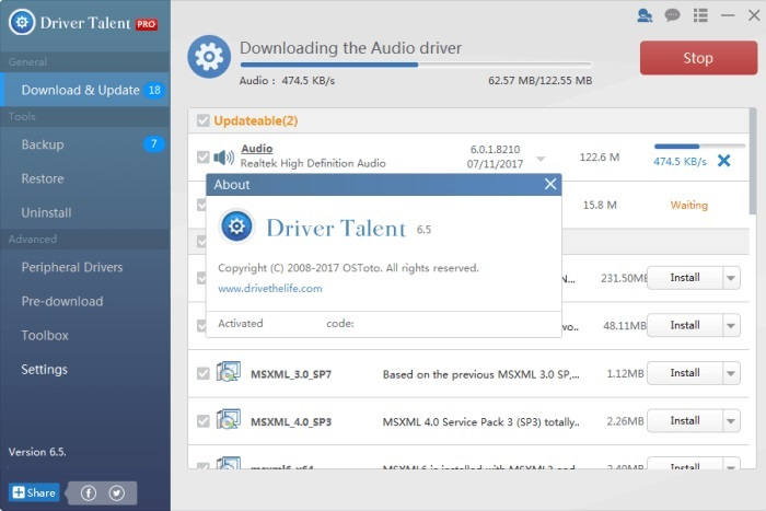 Driver Talent Pro 6.5 Activation Key