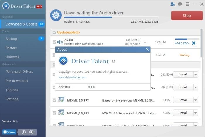 Driver Talent Pro 6.5 Activation Key