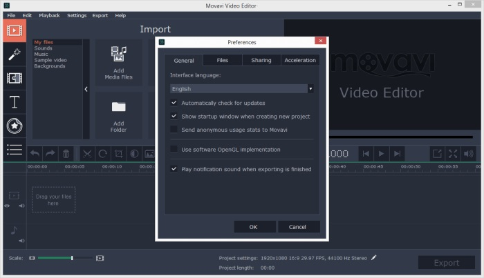 Movavi Video Editor 14.3.0 License Key