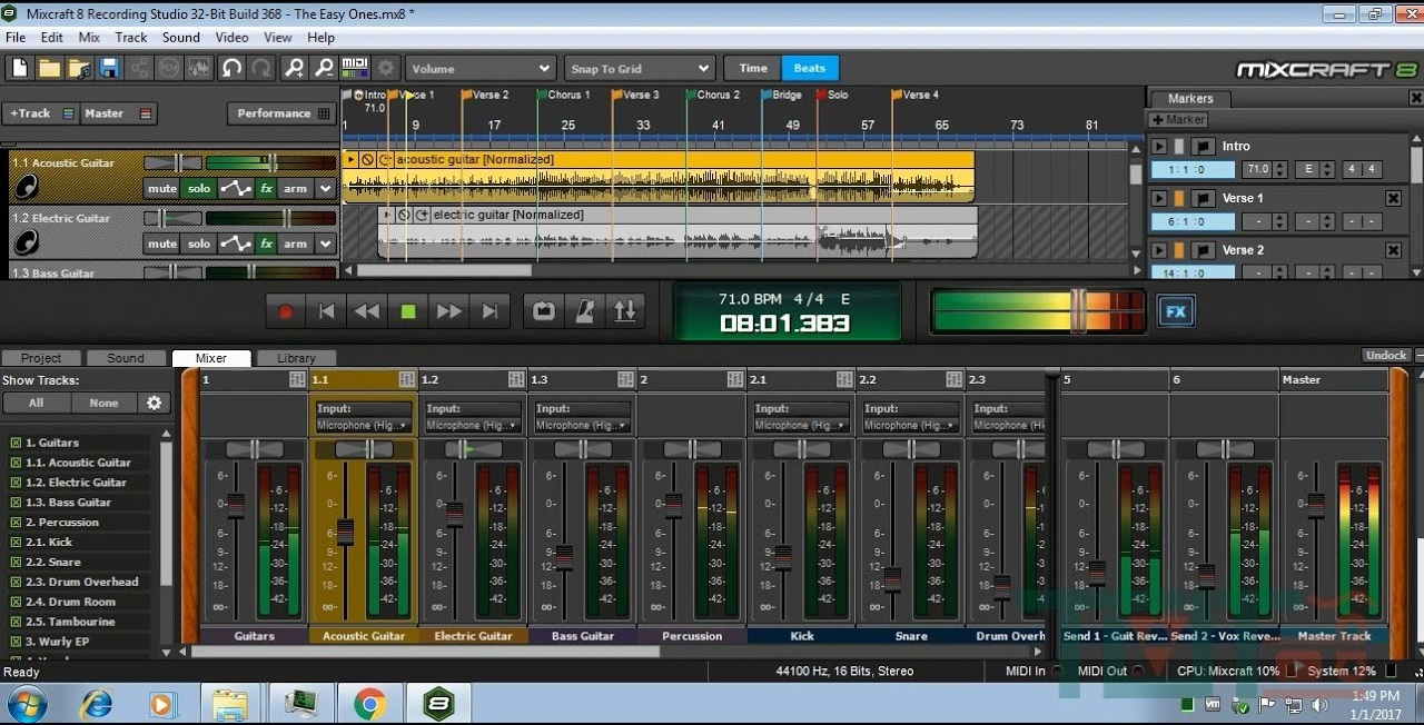 Acoustica Mixcraft Pro Studio   Build  Crack