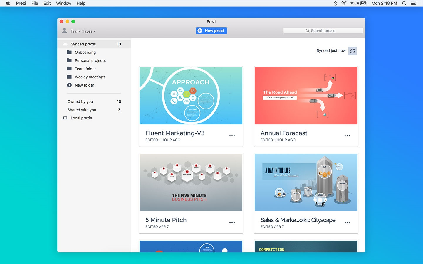 Prezi Pro for Mac Crack
