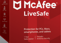 McAfee LiveSafe 2020 Crack + Activation Key Full Version