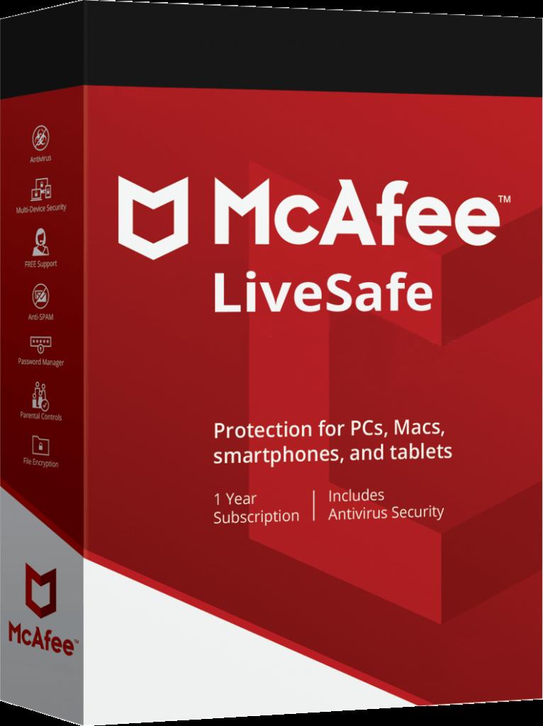 McAfee LiveSafe 2020 Crack + Activation Key Full Version