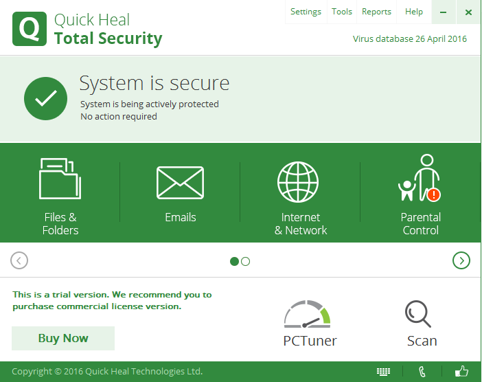 Quick Heal Total Security 2019 Key