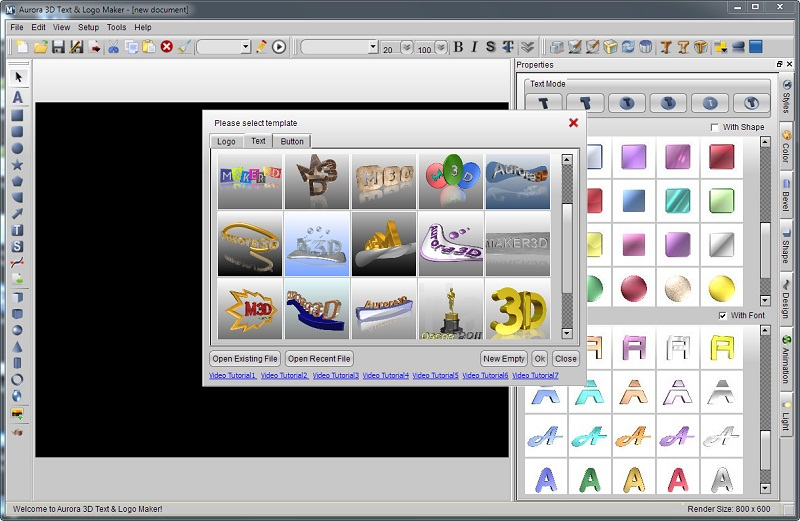 Aurora 3D Text & Logo Maker 16.01.07 Keygen