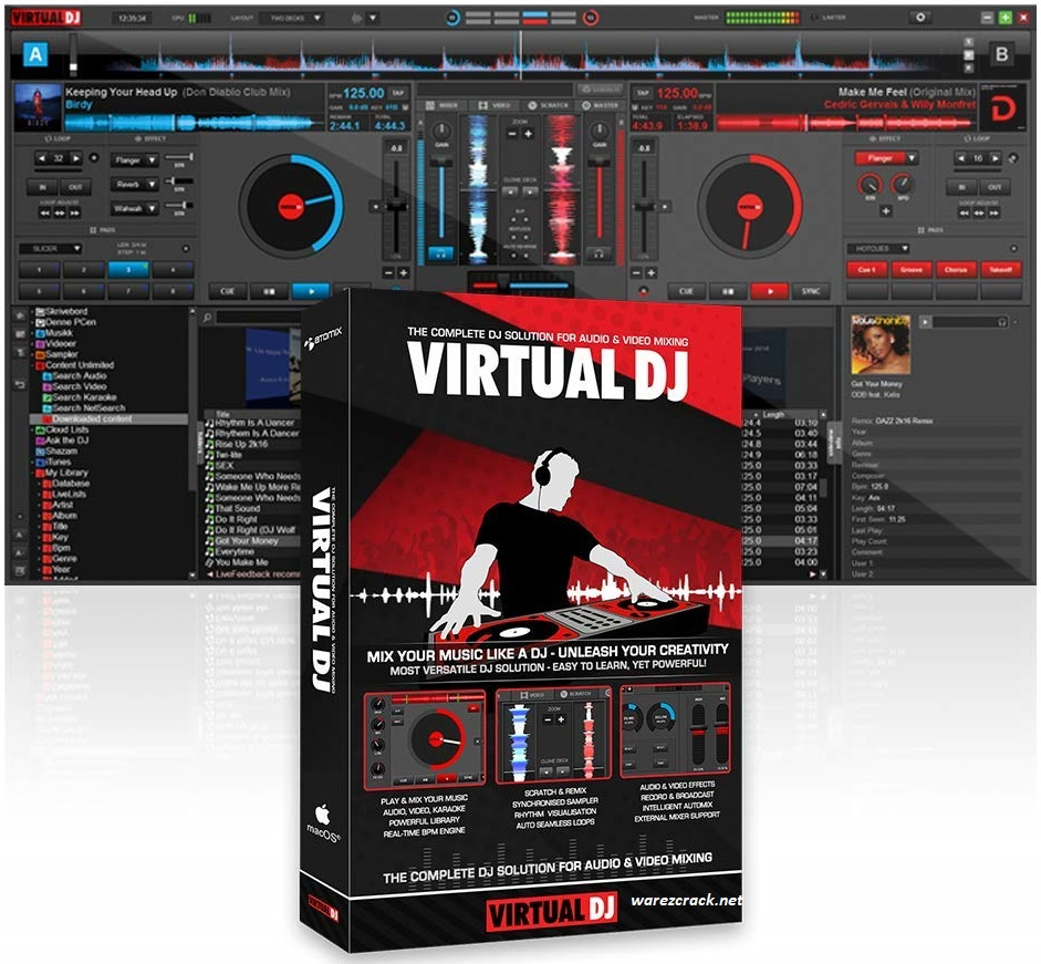 Virtual DJ Pro 2021 Crack