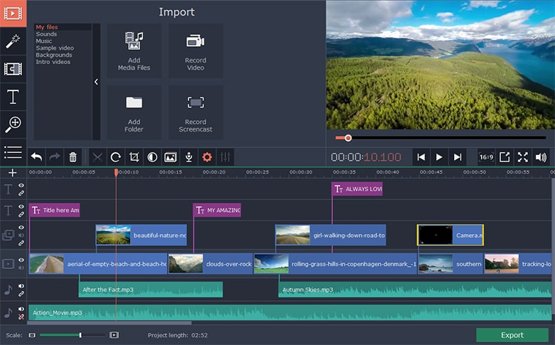 Movavi Video Editor 15 Plus Crack
