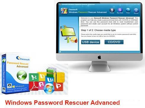 DaosSoft Windows Password Rescuer Advanced 6.0.0.1 Crack