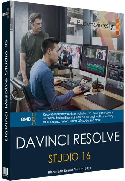 DaVinci Resolve Studio 16.2.5.15 Crack