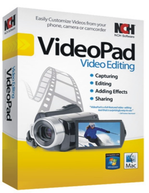 VideoPad Video Editor Pro 8.56 Crack + Product Key