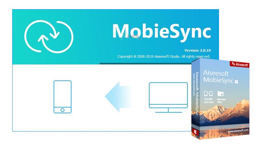 Aiseesoft MobieSync 2.0.32 Crack + Patch 2020 [Latest Version]