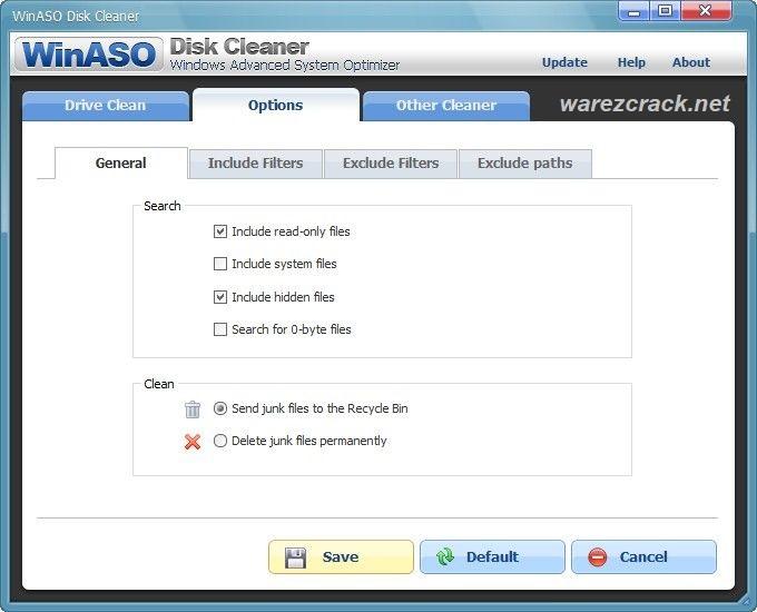 WinASO Disk Cleaner Crack + Key 2020 [Latest Version]